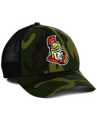 Reebok | Green Ottawa Senators Camo Trucker Cap for Men | Lyst