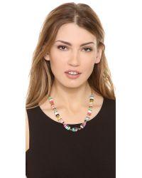 kate spade new york   Multicolor Brighton Rock Short Necklace   Lyst