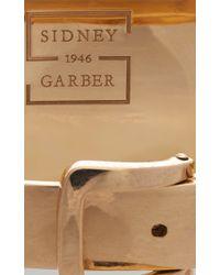 Sidney Garber - Metallic Buckle Cuff - Lyst