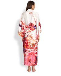 Natori | Multicolor Rococo Robe | Lyst