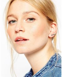 ASOS | Metallic Sleek Fine Bar Ear Climber | Lyst