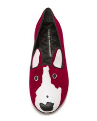 Marc By Marc Jacobs - Purple Neville Loafers - Lyst