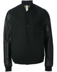 Paul Smith - Black Bomber Jacket for Men - Lyst