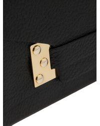 Sophie Hulme - Black Fine Envelope Wallet - Lyst
