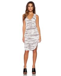 Saint Grace - Gray Vesper Mini Dress - Lyst