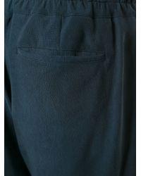 Giorgio Armani - Blue Pleated Shorts for Men - Lyst
