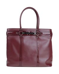 Versace Jeans | Purple Handbag | Lyst