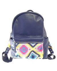 Urban Originals - Blue Fiesta Backpack - Lyst