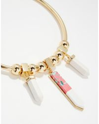 ASOS | Metallic Statement Shard Torque Necklace | Lyst