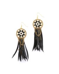 Fiona Paxton - Metallic Dakota Earrings - Black Multi - Lyst