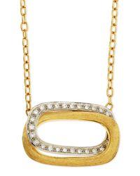 Marco Bicego - Metallic Murano 18K Gold & Diamond Pendant Necklace - Lyst
