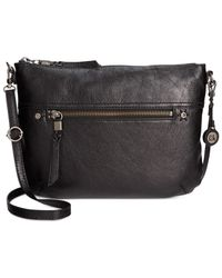 The Sak | Black Oleta Leather Crossbody | Lyst