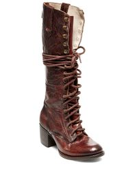 Freebird by Steven | Brown Grany Lace-up Boots | Lyst