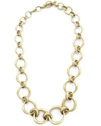 Vaubel - Metallic Chunky Oval Necklace - Lyst