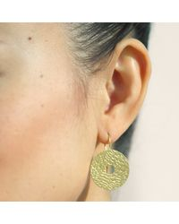 Dutch Basics | Metallic Coins Earrings Gold | Lyst