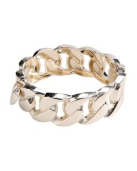 Twin Set - Metallic Bracelet - Lyst