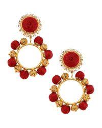 Dolce & Gabbana - Red Earrings - Lyst