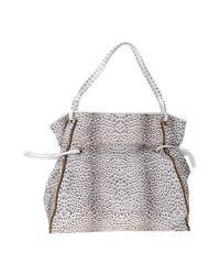 Class Roberto Cavalli | Metallic Handbag | Lyst