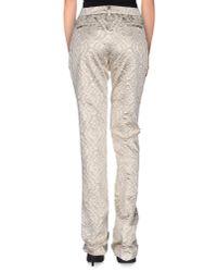 N°21 - Metallic Casual Trouser - Lyst
