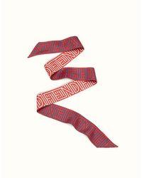 Fendi - Red Optical Wrappy Optical Wrappy - Lyst