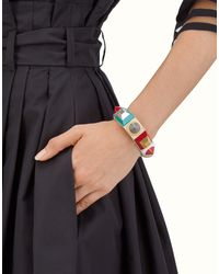 Fendi - White Rainbow Bracelet Rainbow Bracelet - Lyst