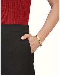 Fendi - Metallic Bracelet Bracelet - Lyst