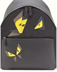 Fendi - Black Backpack Backpack for Men - Lyst