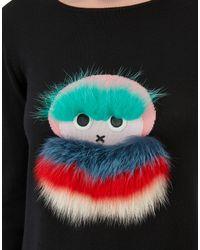Fendi - Black Pullover Pullover - Lyst