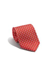 Ferragamo - Red Printed Tie for Men - Lyst