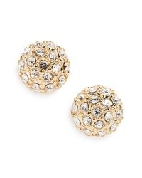 Judith Jack | Metallic 'fireball' Cubic Zirconia Stud Earrings | Lyst