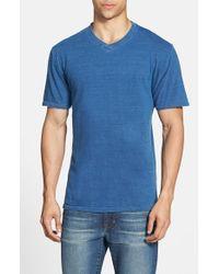 Red Jacket - Blue Indigo V-Neck T-Shirt for Men - Lyst