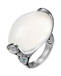 John Hardy | Metallic Kali Quartz/Moonstone Ring | Lyst