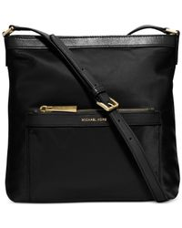 Michael Kors | Black Michael Morgan Medium Messenger Bag | Lyst