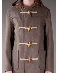 Gloverall - Brown Montgomery Coat for Men - Lyst