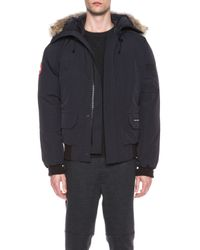 Canada Goose - Blue Chilliwack Polyblend Bomber - Lyst