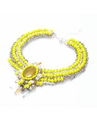 Nakamol | Multicolor Regalia Necklace-yellow | Lyst