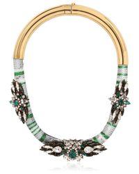 Shourouk - Multicolor Mamba Necklace - Lyst