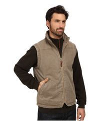 Woolrich | Natural Dorrington Ii Vest for Men | Lyst