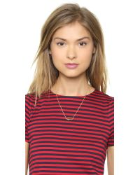 Marc By Marc Jacobs - Metallic Arrow Necklace - Oro - Lyst