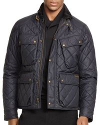 Ralph Lauren - Black Polo Quilted Bike Jacket for Men - Lyst