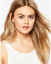 ASOS | Metallic Limited Edition Branch Necklace | Lyst