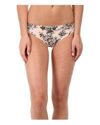 Stella McCartney | Pink Stella Smooth Print Brief Bikini | Lyst