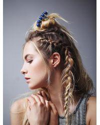 Free People | Metallic Womens Quintet Stone Hair Pick | Lyst