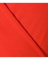 Diane von Furstenberg - Red New Julian Two Mini Wrap Dress - Lyst