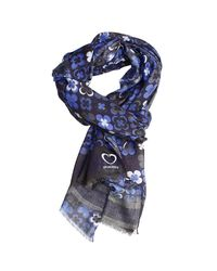 Cruciani | Gray Scarf Man for Men | Lyst