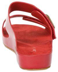 Calvin Klein - Red Women'S Myra Slide Sandals - Lyst