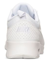 Nike | White 'Air Max Thea' Sneakers | Lyst