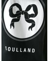 Soulland - Black 'eclipse' Hoodie for Men - Lyst