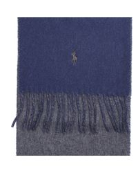 Polo Ralph Lauren - Blue Scarf for Men - Lyst
