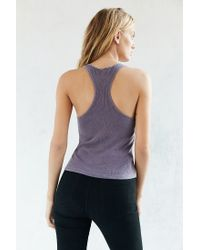 Truly Madly Deeply - Purple Classic Racerback Tank - Lyst